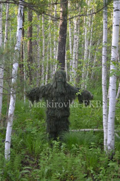 camouflage suit leshy dark green1