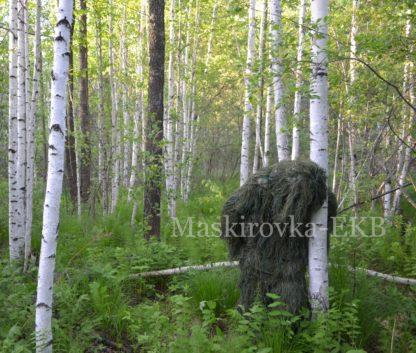 camouflage suit leshy dark green2