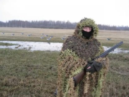 camouflage coat poncho autumn spring2