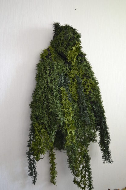 camouflage coat poncho greens2
