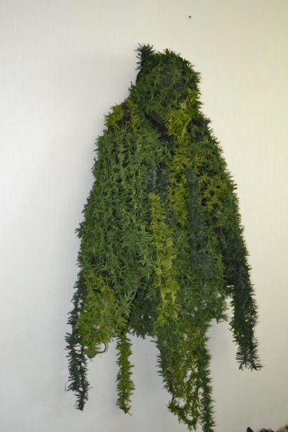 camouflage coat poncho greens3