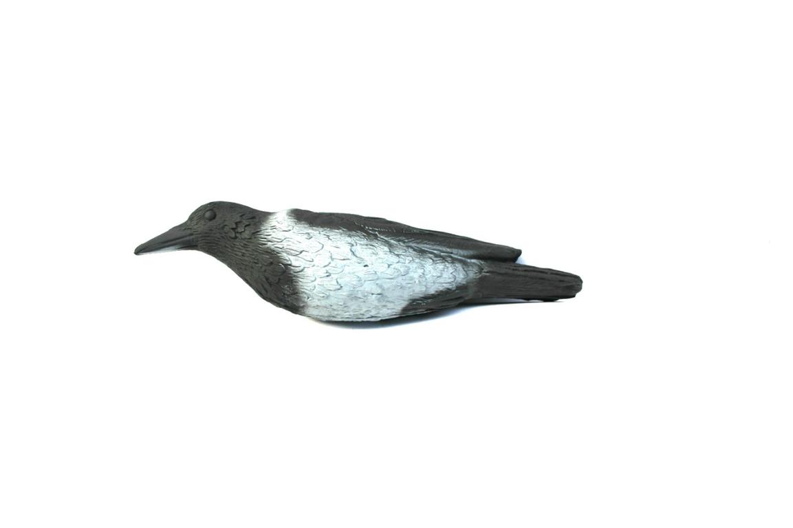 чучело вороны для охоты на птицу